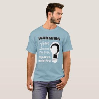 Camiseta Ciência engraçada em andamento da experiência de