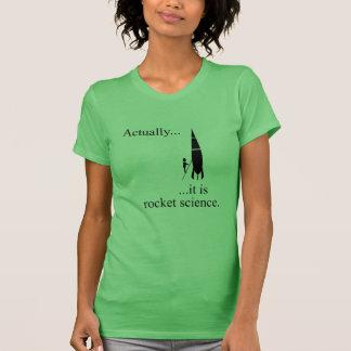 Camiseta Cientista de Rocket
