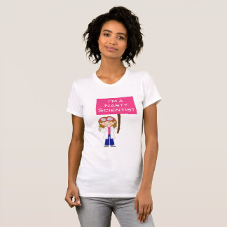 Camiseta Cientista desagradável