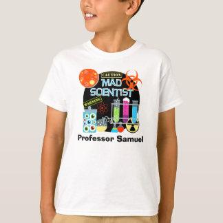 Camiseta Cientista louco t-shirt personalizado