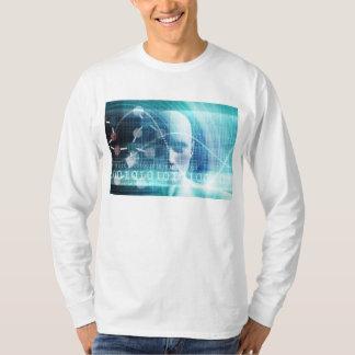Camiseta Cientistas da educação e tornar-se da ciência