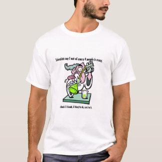Camiseta Cientistas loucos