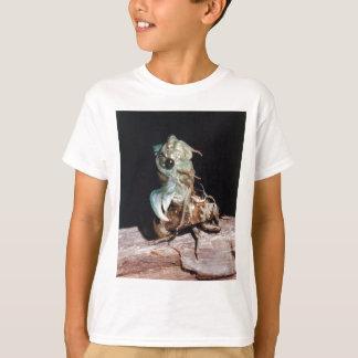 Camiseta Cigarra que emerge de Shell