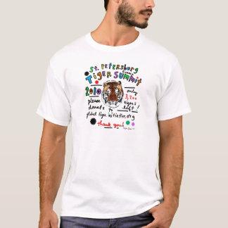 Camiseta Cimeira do tigre