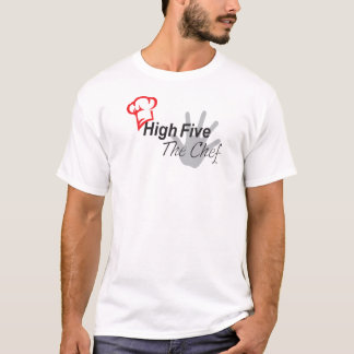 Camiseta Cinco altos o t-shirt do cozinheiro chefe