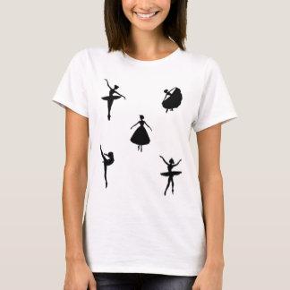 Camiseta Cinco dançarinos