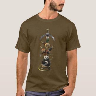 Camiseta Cinco furiosos que levantam