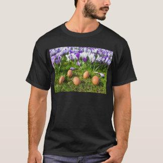 Camiseta Cinco ovos fracos que encontram-se perto dos