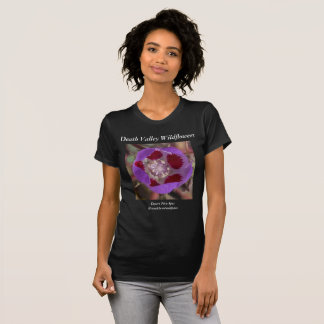 Camiseta Cinco-Ponto do deserto do t-shirt dos Wildflowers