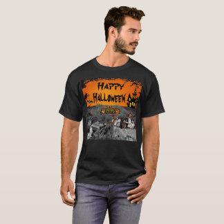Camiseta Cinema ao ar livre assombrado do Dia das Bruxas