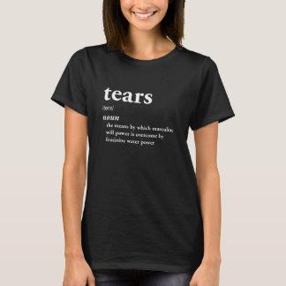 Camiseta Cinismo engraçado da ironia da definição dos