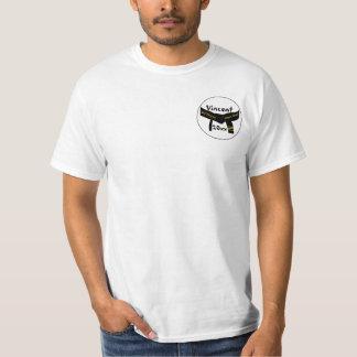 Camiseta Cinturão negro do grau das artes marciais ó