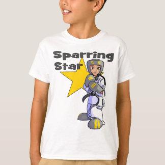 Camiseta Cinturão negro Sparring de Taekwondo da estrela