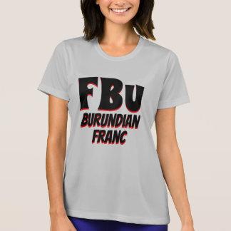 Camiseta Cinza burundiano do franco de FBu