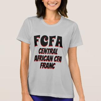 Camiseta Cinza da África Central do franco de FCFA CFA