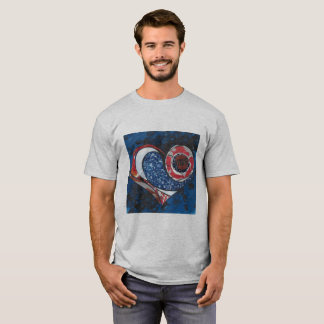 """Camiseta Cinza da urze dos homens """"um"""" t-shirt"""