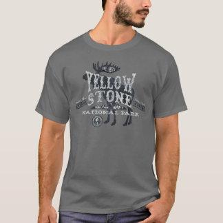 Camiseta Cinza do t-shirt dos alces do parque nacional de