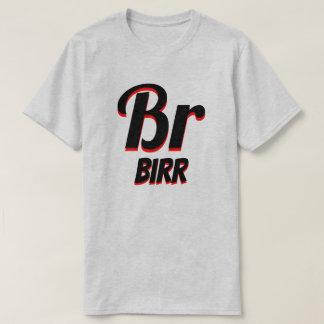 Camiseta Cinza etíope do birr do ብር do Br