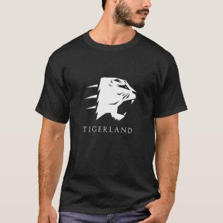 Camiseta Cinza/Preta Tigerland