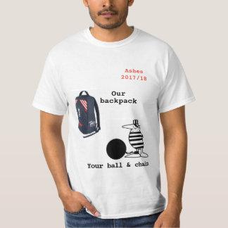 Camiseta Cinzas 2017/18 de t-shirt da excursão