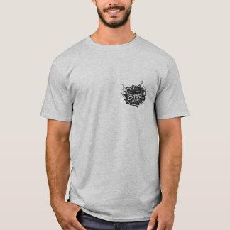 Camiseta Cinzas altas octanagem do design