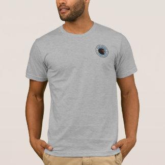 Camiseta Cinzas básicas do t-shirt dos homens dos marismas