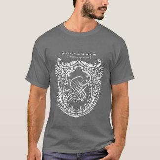 Camiseta Cinzas islâmicas do protetor