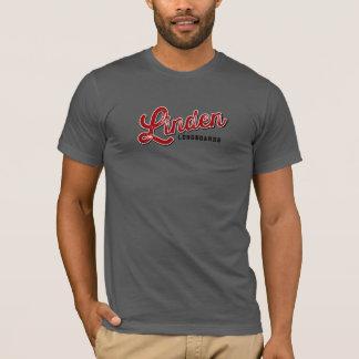 Camiseta Cinzas T de Longboards do Linden