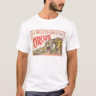 Camiseta Circo do Cole de Beatty - 1903 - afligido