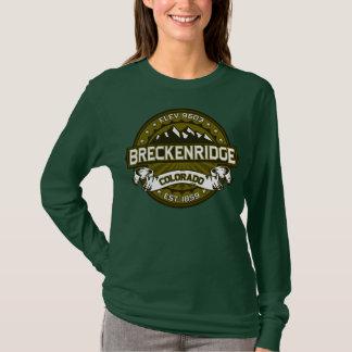 Camiseta Círculo da cidade de Breckenridge