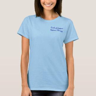 Camiseta Círculo da terapia pediatra do apoio