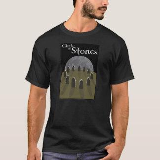 Camiseta Círculo do t-shirt das pedras