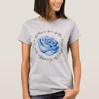 Camiseta Círculo inspirado da afirmação das citações
