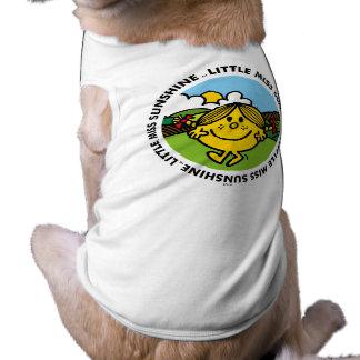 Camiseta Círculo pequeno da luz do sol da senhorita Luz do