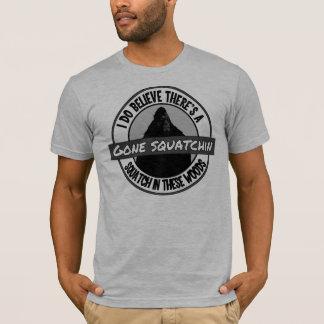 Camiseta Círculo - Squatchin ido - Squatch nestas madeiras