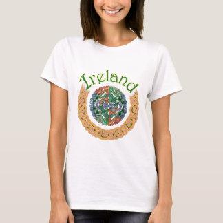 Camiseta Círculos do céltico de Ireland