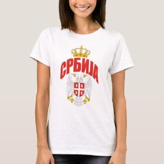 Camiseta Cirílico de Serbia