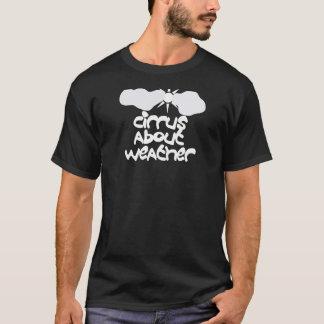 Camiseta Cirro sobre o tempo
