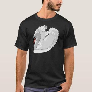 Camiseta cisne branca