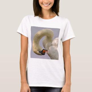 Camiseta Cisne muda do close up
