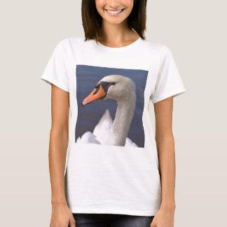 Camiseta Cisne muda do retrato