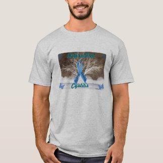 Camiseta Cistite intersticial - lutando, sobrevivendo