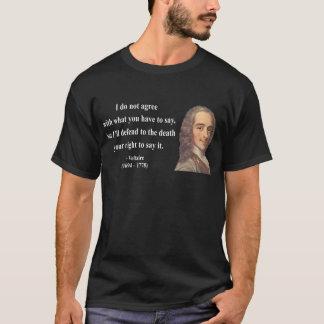 Camiseta Citações 1b de Voltaire