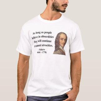 Camiseta Citações 2b de Voltaire
