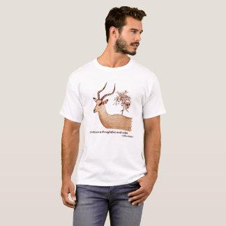Camiseta Citações animais de John Muir dos animais