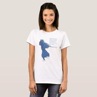 Camiseta Citações básicas de Hillary do Tshirt das mulheres