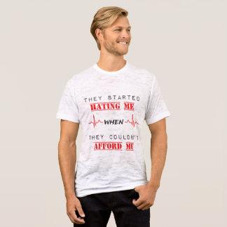 Camiseta Citações da atitude no t-shirt da neutralização