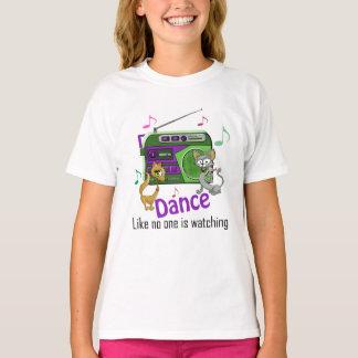 Camiseta Citações da dança