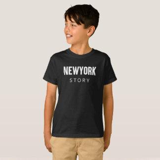 Camiseta Citações da história de Newyork