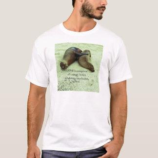 Camiseta Citações de Aristotle dos soulmates do amor